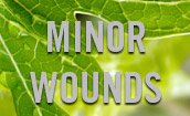 minor wounds