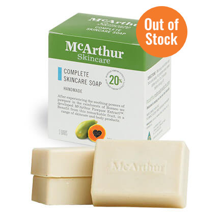 Complete Skincare Soap (3 bars) – $19.95