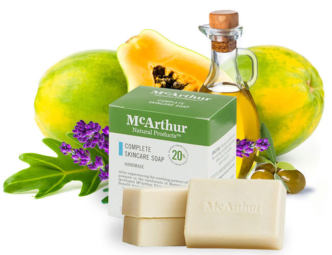 McArthur Skincare's Complete Skincare Soap is made in our factory in Queensland - Australia.