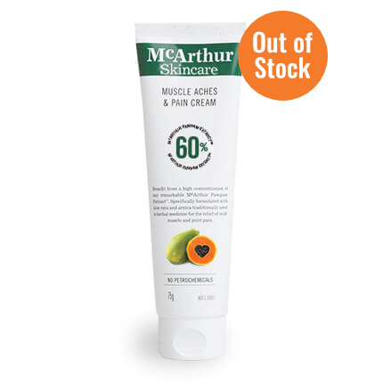 Muscle Aches & Pain Cream 75g - $26.95