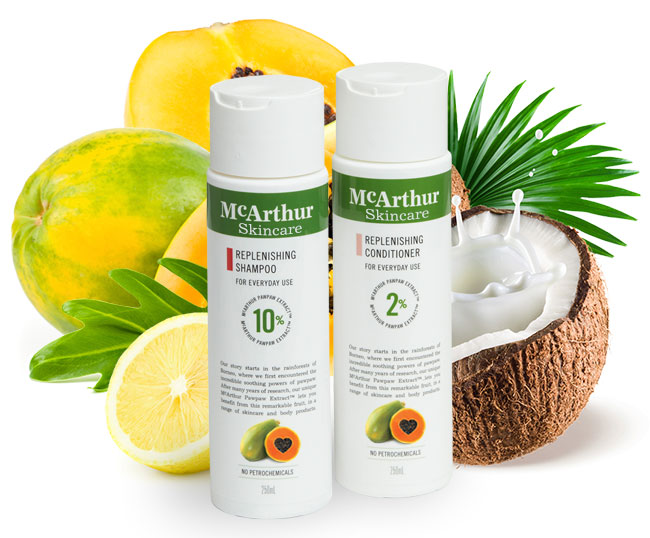 McArthur Skincare's Replenishing Duo Pack Natural Ingredients