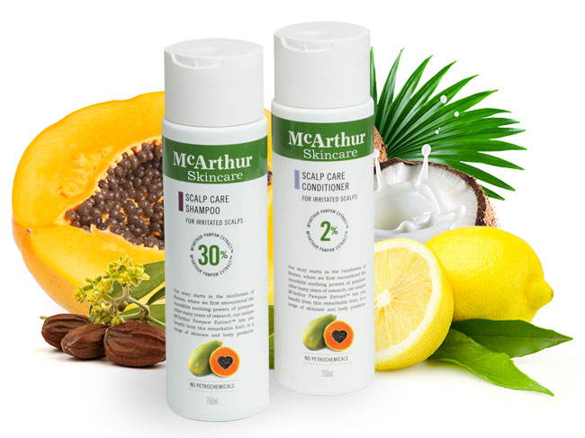 McArthur Skincare's Scalp Care Duo Pack Natural Ingredients