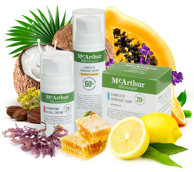 McArthur Skincare's Complete Pack (No Added Fragrance) Natural Ingredients