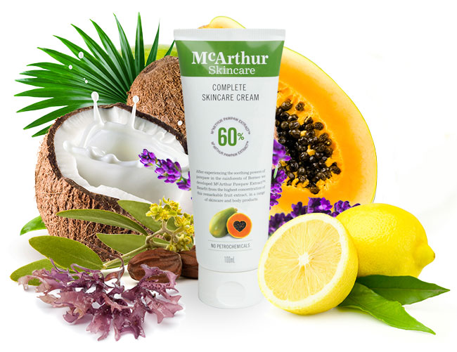 McArthur Skincare's Complete Skincare Cream 100ml Natural Ingredients