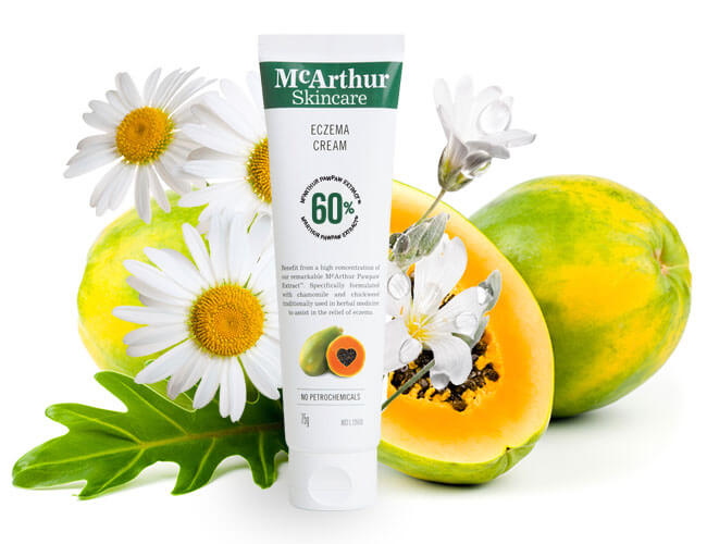 McArthur Skincare's Eczema Cream Natural Ingredients