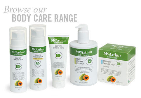 body care range