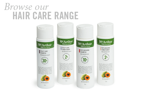 hair care range