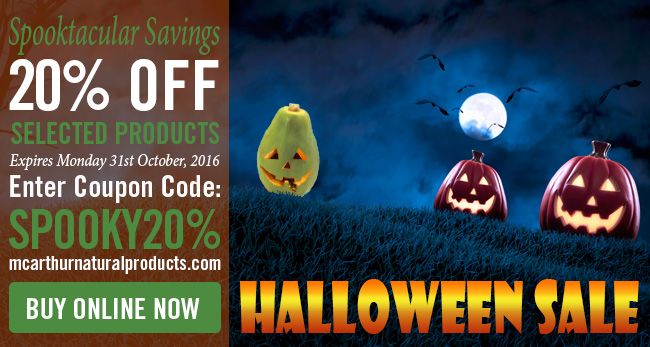 Spooktacular 20% OFF Savings on Skin & Hair Care
