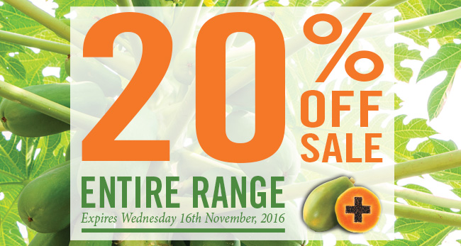 20% OFF Entire Range McArthur Natural Products' Sale