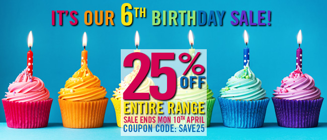 McArthur Skincare 6th Birthday Sale